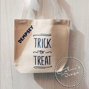 Other - Toddler trick or treat bag w/ name $11 w/o name $8
